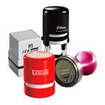 Round Stamp, Office Round Stamp, Round Address Stamp, Self ink round stamp, Round Seal