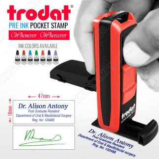 Trodat Pocket Stamp