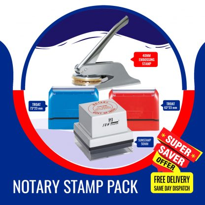Notary Stamp Pack