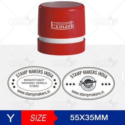 Oval Stamp Online