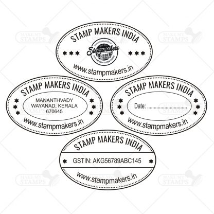 Oval Stamp-samples