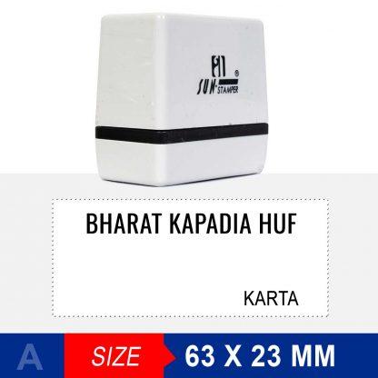 HUF stamp