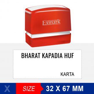 HUF Stamp Exmark