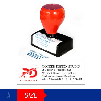 Double Color Stamp