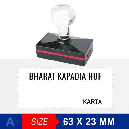 HUF - stamps Crystal Handle